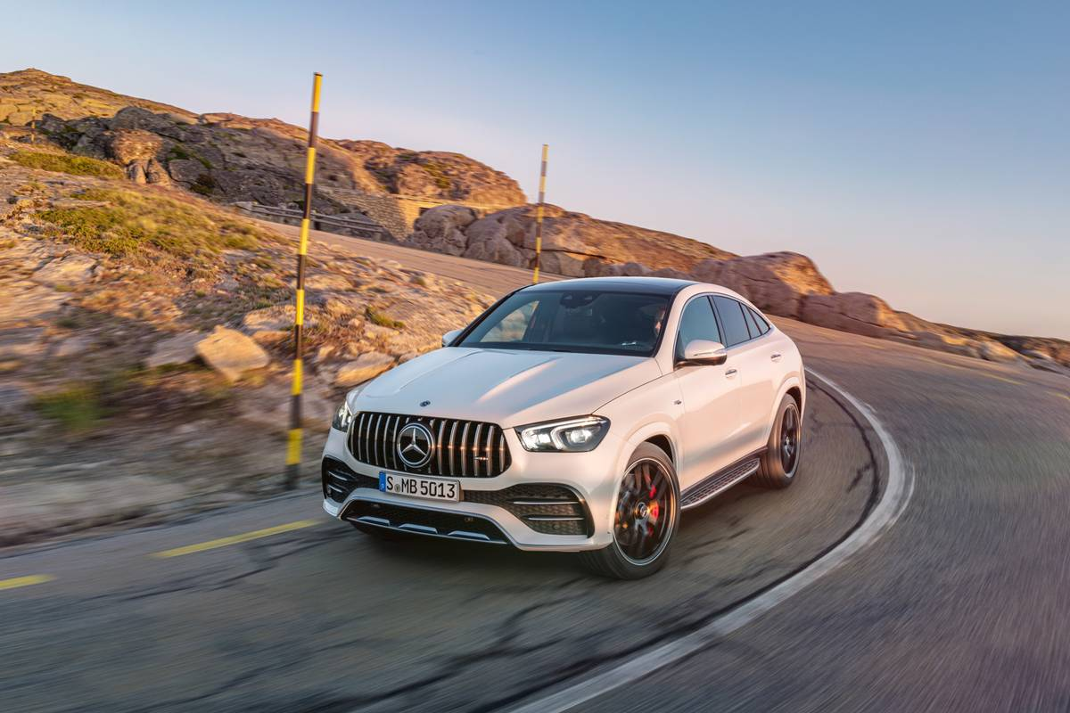 Hybrid Boost Puts More Pep in 2021 Mercedes-AMG GLE53 Coupe's Step