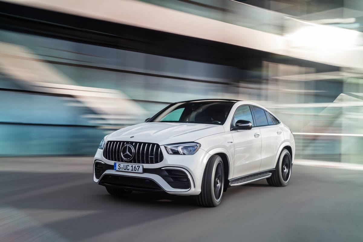 2021 Mercedes-AMG GLE63 S Coupe: Performance SUV Chops, Now With Less Roof