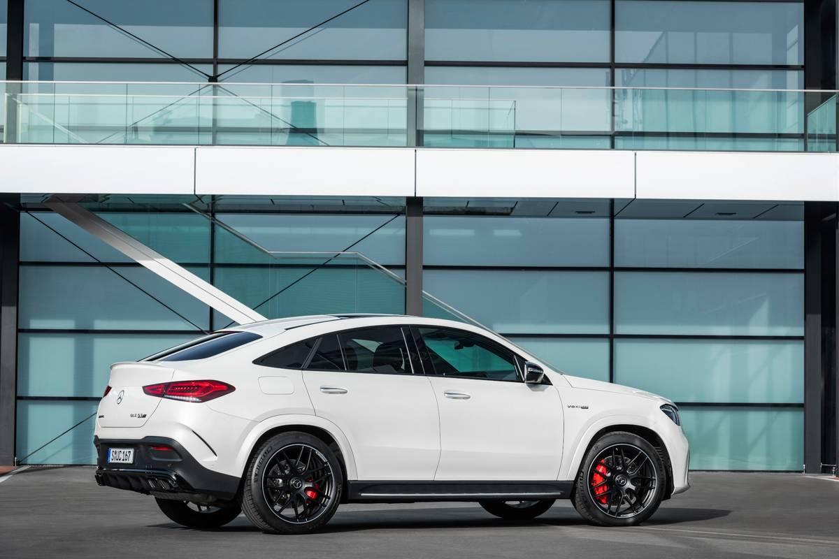 2021 Mercedes Amg Gle63 S Coupe Less Roofline More Bottom Line News Cars Com