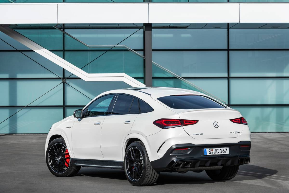 2021 Mercedes-AMG GLE63 S Coupe: Less Roofline, More ...