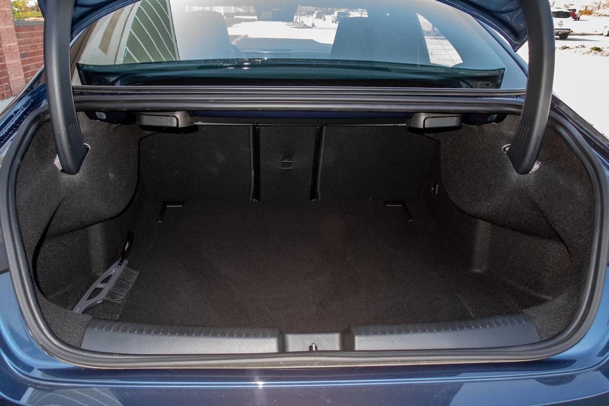 2020 Mercedes-Benz CLA250 trunk