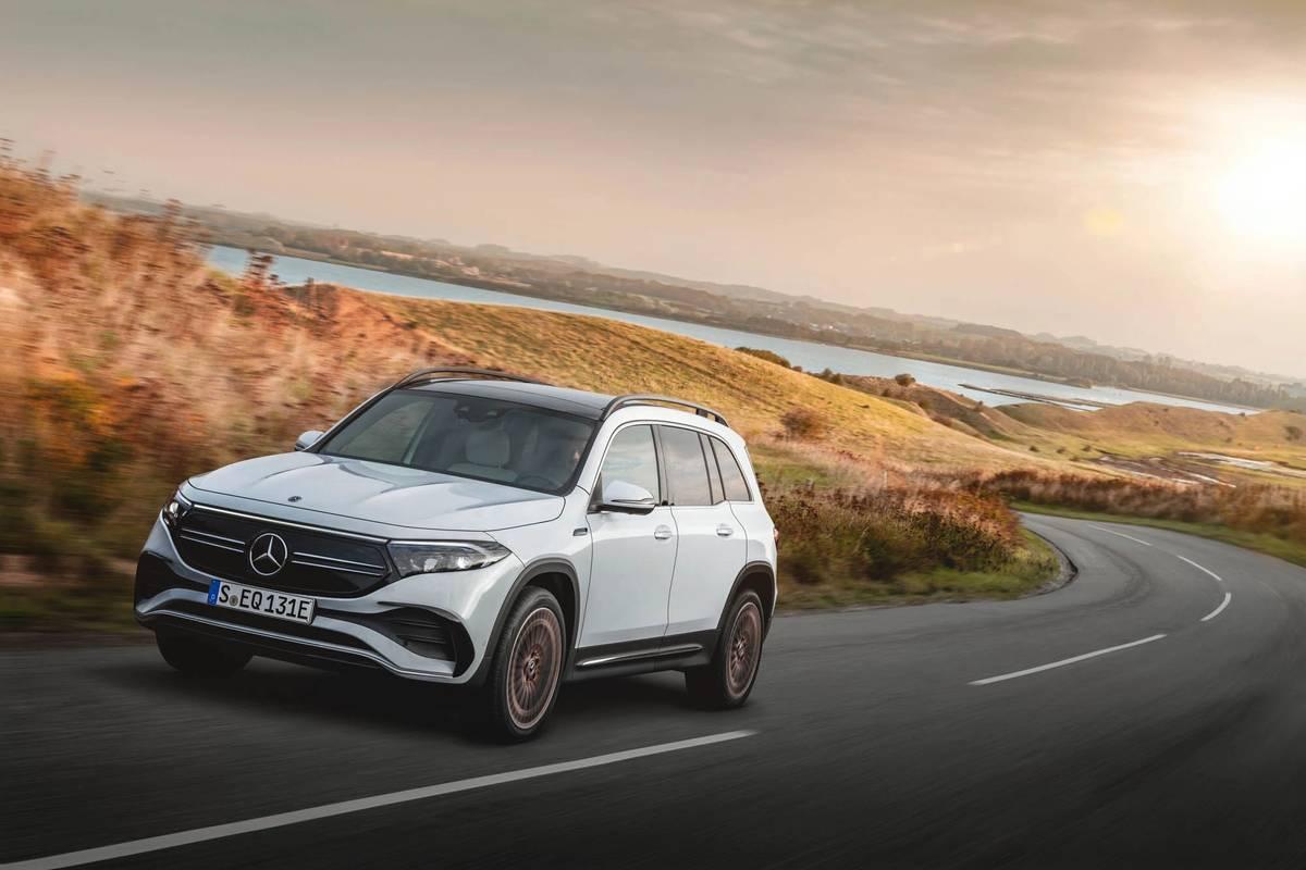 Mercedes-Benz Plans EQB Electric SUV for U.S.