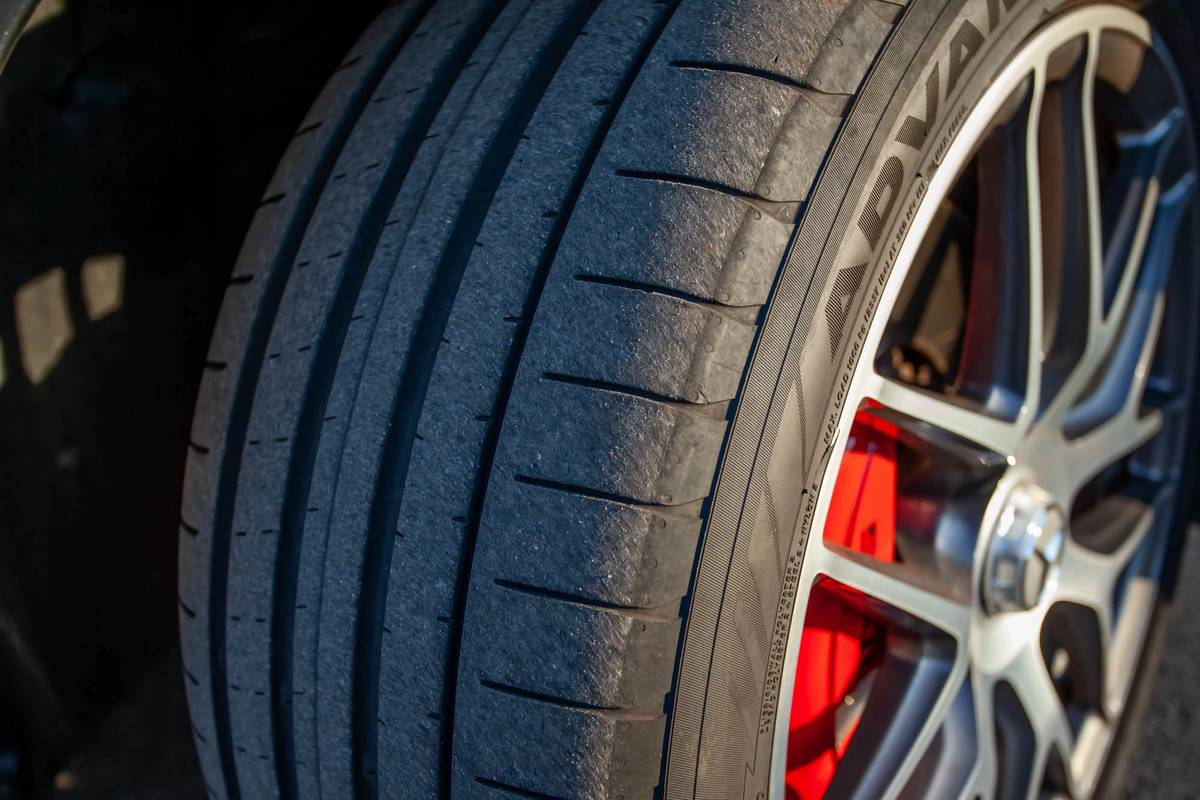 2021 Mercedes-Benz GLE 63 S tire