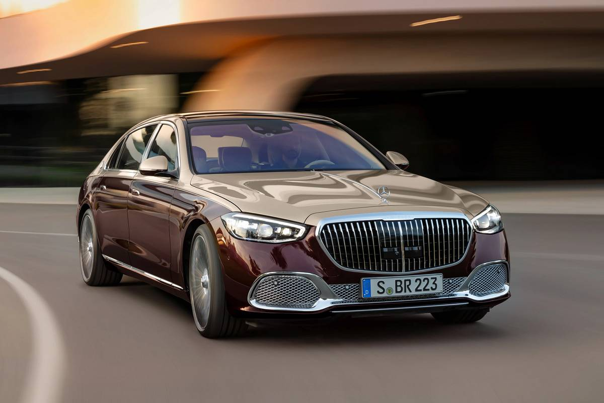 6 Crazy Features on the 2021 Mercedes-Maybach S-Class