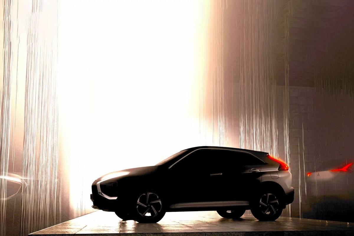 2022 Mitsubishi Eclipse Cross teaser