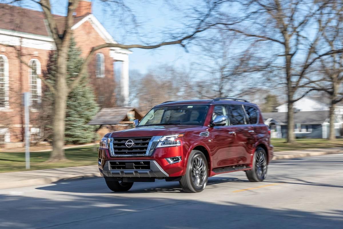 2021 Nissan Armada Adds New Budget Trim