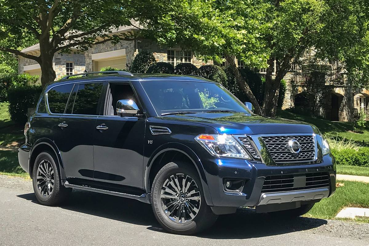 2019 Nissan Armada 8 Things We Like And 4 Not So Much News Cars Com