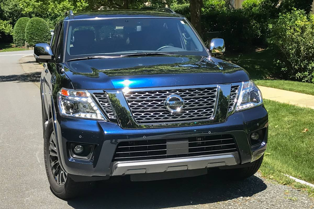 2019 nissan armada review: a friendly big fella with some