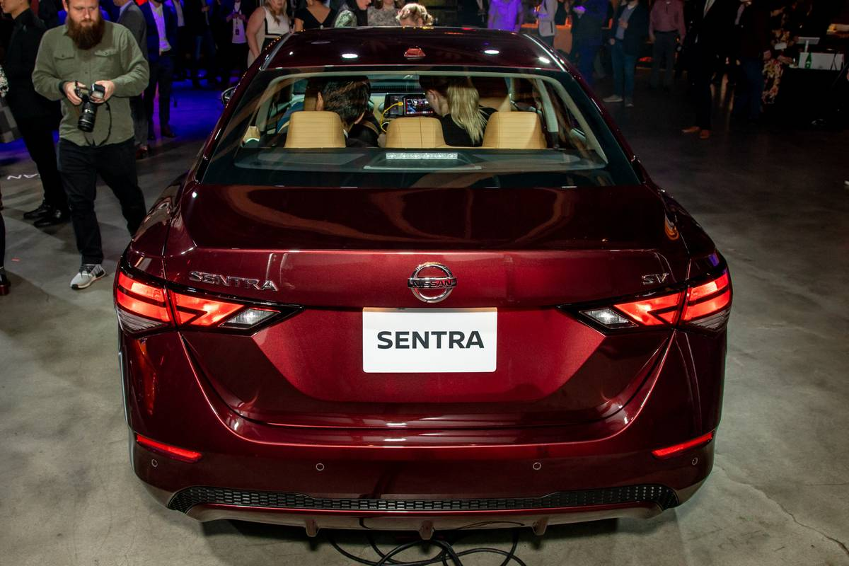 2020 Nissan Sentra Brings Altima Looks to Compact Class