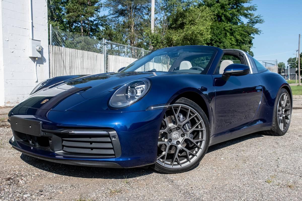 2021 Porsche 911 Targa 4 Review: All the 911 Goodness, Just Breezier