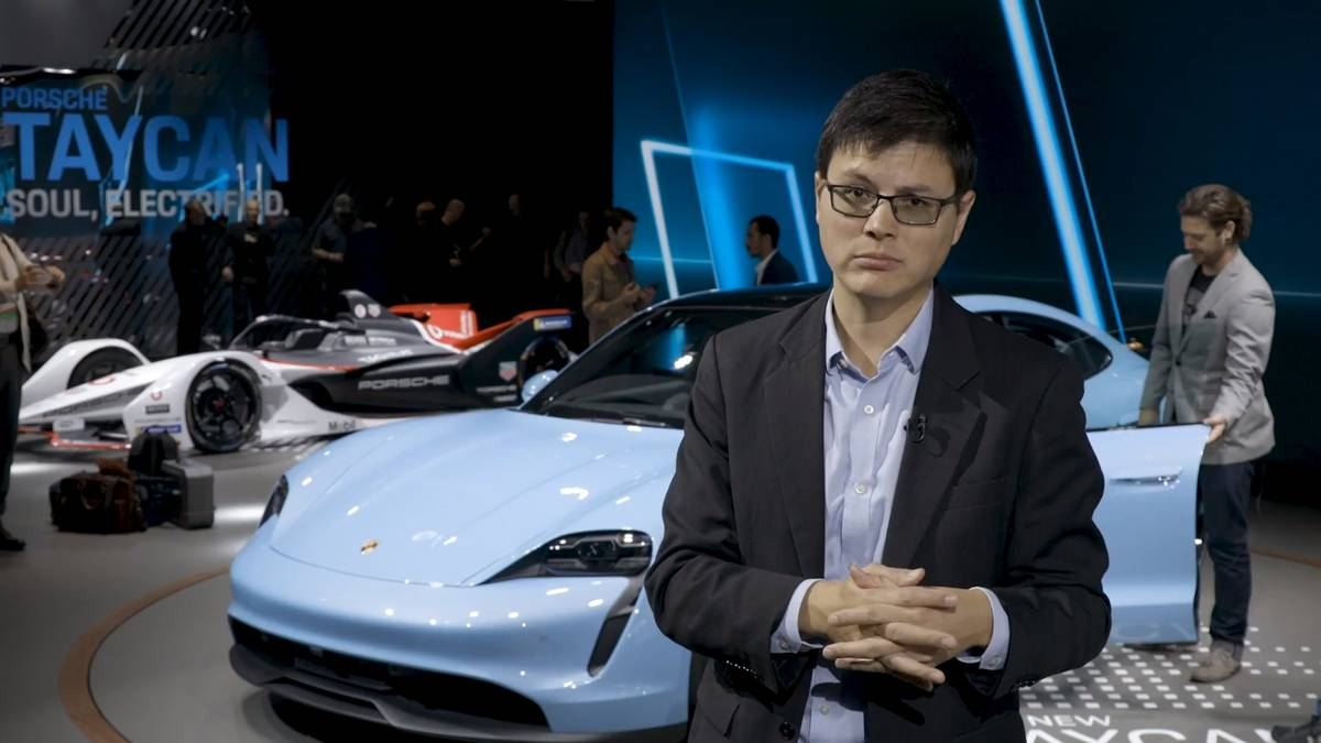 2020 Porsche Taycan 4s Video A Refreshing Stylistic Departure News Cars Com