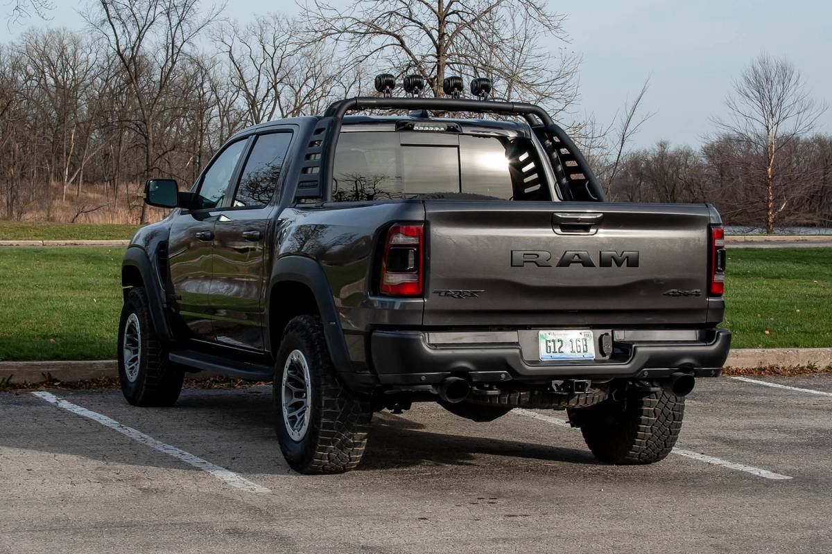2021 Ram 1500 TRX: 4 Things We Like and 2 Things We Don't
