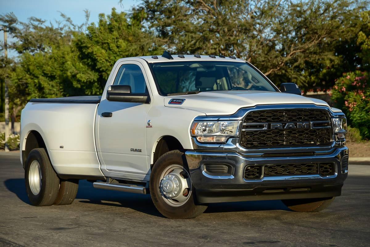 All the Pickup Truck News: Ram 3500 Tradesman Tows, Ram 1500 Ups Crash Cred and More