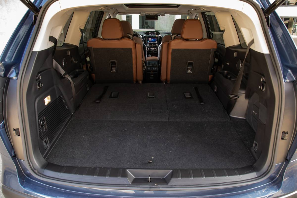 3 Row Suvs With The Best Cargo Space News Cars Com