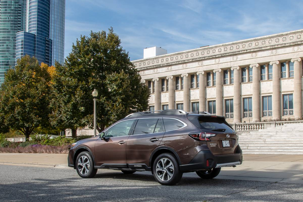 Brown 2020 Subaru Outback