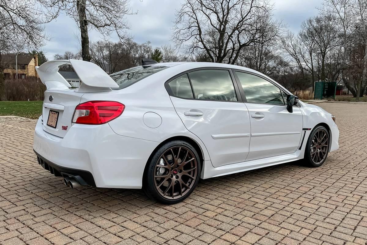 2020 Subaru WRX STI Series White