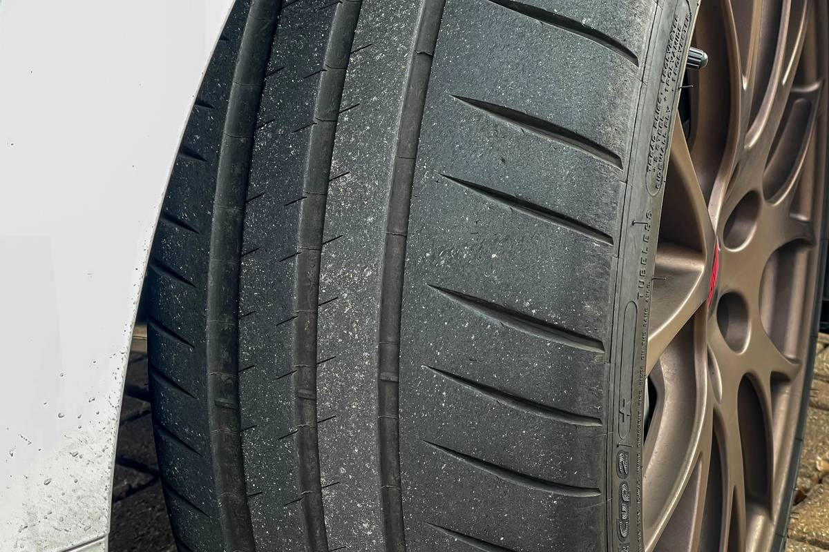 2020 Subaru WRX STI Series White tire