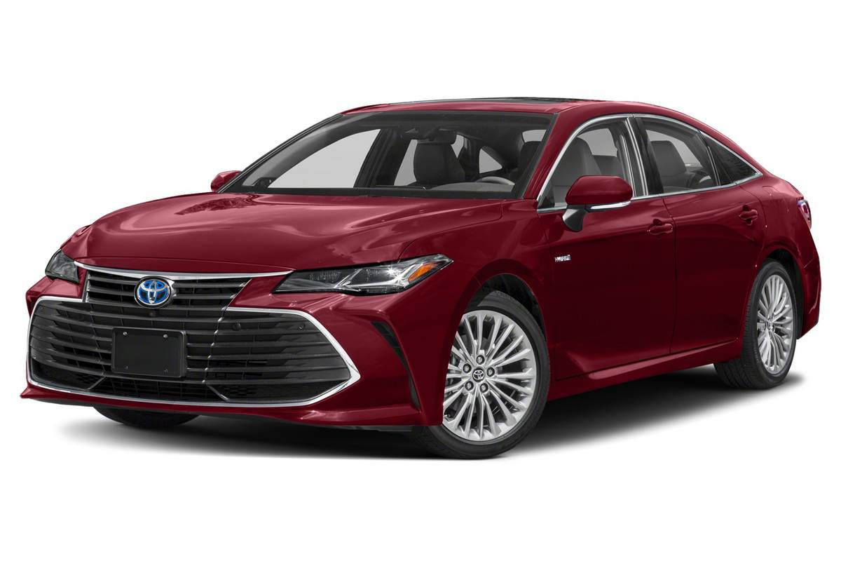 toyota-avalon-hybrid-2020-exterior-front-three-quarter-oem