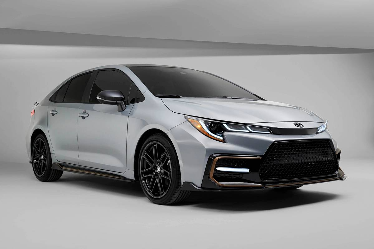 2021 Toyota Corolla Reaches Peak Sportiness With Apex Edition