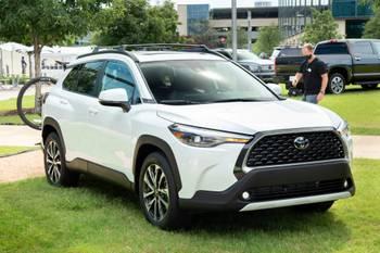 2022 Toyota Corolla Cross Up Close: The Corolla of Small SUVs