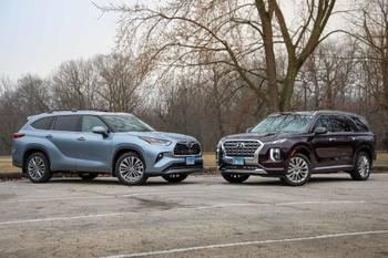 2020 Hyundai Palisade Vs. 2020 Toyota Highlander: Family SUVs Duke It Out