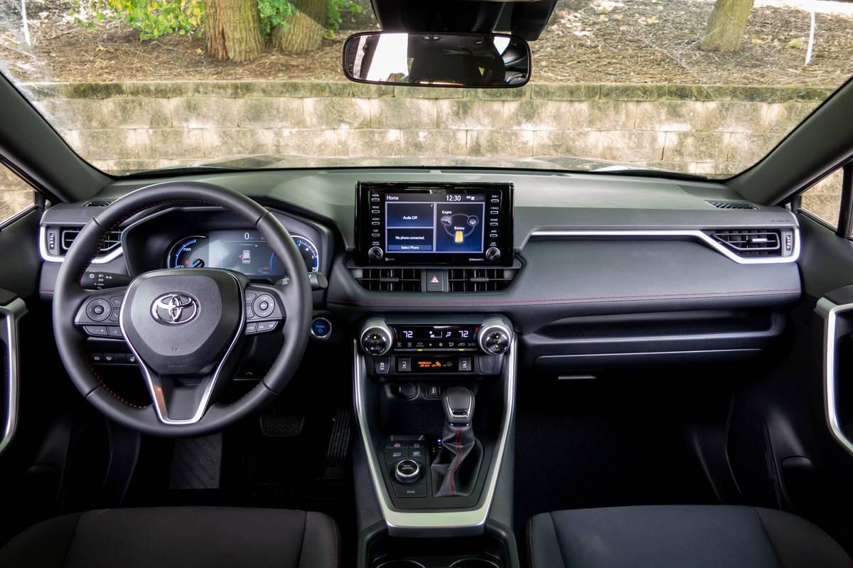 2021 Toyota RAV4 Prime dashboard