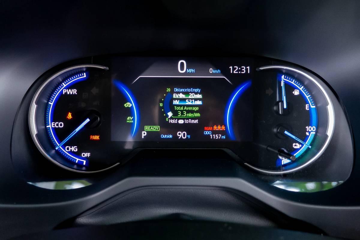 2021 Toyota RAV4 Prime instrument panel