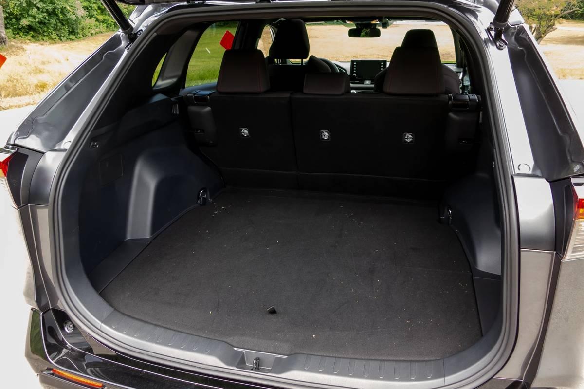 2021 Toyota RAV4 Prime rear cargo