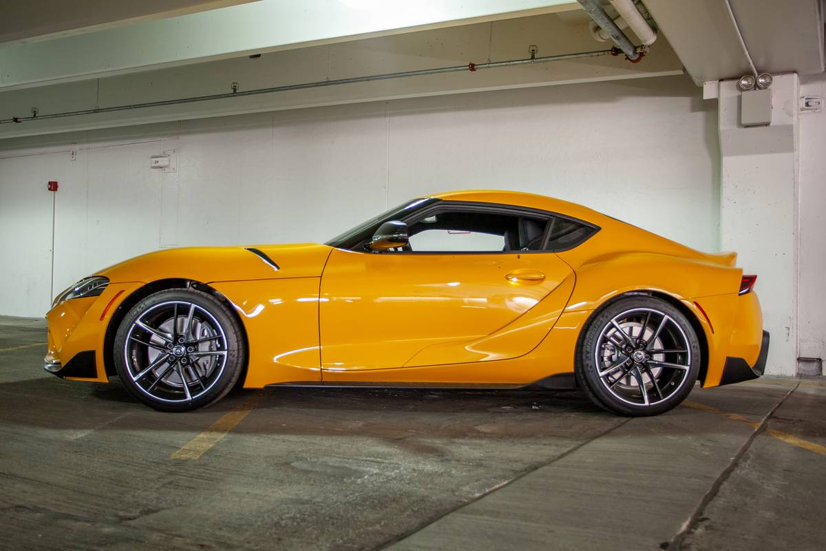 2021 toyota supra four-cylinder priced $16k more than