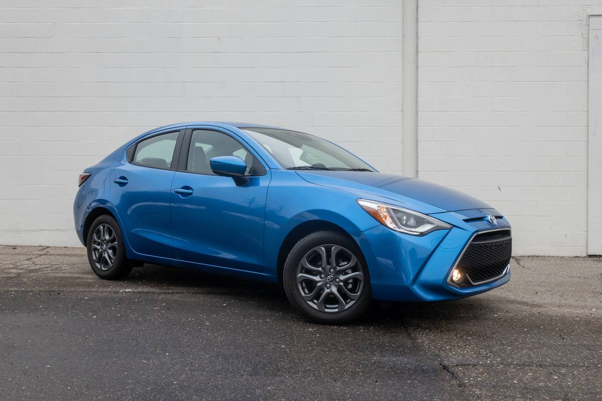 2020 Toyota Yaris XLE Sedan Review: Frugal Can Be Fun