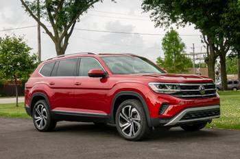2021 Volkswagen Atlas Review: New Face, Same Space