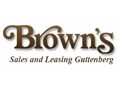 Brown's Sales and Leasing Guttenberg