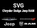 SVG Chrysler Dodge Jeep Ram