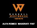 Russell Westbrook Alfa Romeo Maserati Fiat