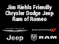 Jim Riehls Friendly Chrysler Dodge Jeep Ram of Romeo