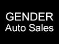 Gender Auto Sales