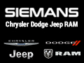 Siemans Chrysler Dodge Jeep Ram