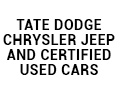 Tate Dodge Chrysler Jeep and Certified Used Cars