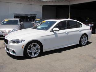 2016 BMW 550