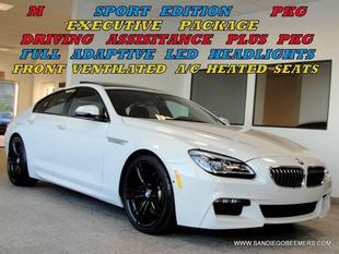 2016 BMW 640 Gran Coupe