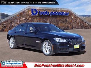 2015 BMW 750