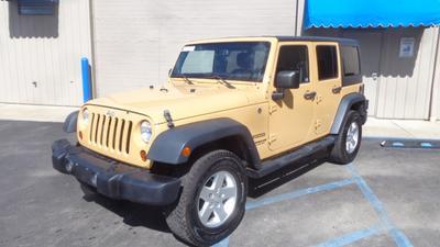 2013 Jeep Wrangler Unlimited Sport for sale VIN: 1C4BJWDG0DL643551