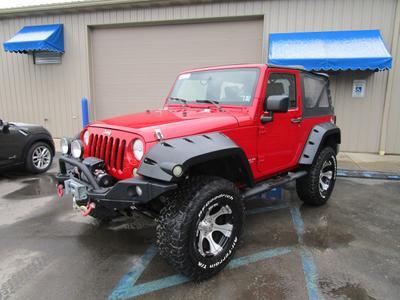2008 Jeep Wrangler X for sale VIN: 1J4FA24158L556797