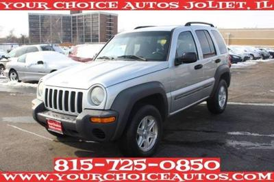 2002 Jeep Liberty Sport for sale VIN: 1J4GL48K42W255778