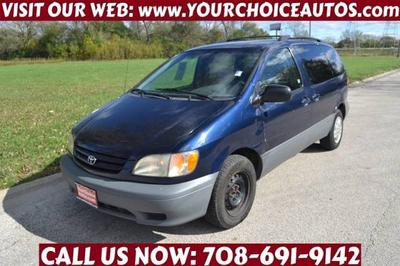 2002 Toyota Sienna LE for sale VIN: 4T3ZF13C92U492785