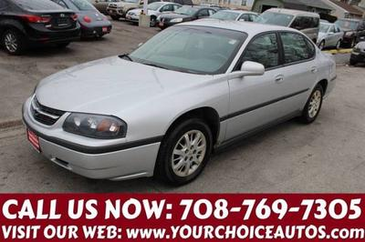 2001 Chevrolet Impala  for sale VIN: 2G1WF52EX19219353