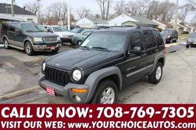 2002 Jeep Liberty Sport for sale VIN: 1J4GK48K12W185580