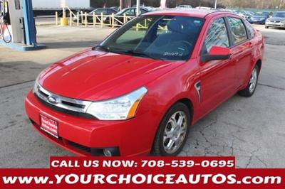 2008 Ford Focus SES for sale VIN: 1FAHP35N28W201692