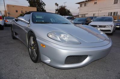 2001 Ferrari 360 Spider F1 for sale VIN: ZFFYT53A910122953
