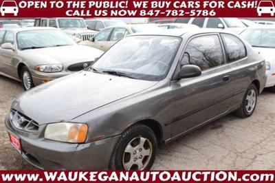 2002 Hyundai Accent L for sale VIN: KMHCF35G72U183147